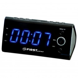Radio Reloj AM-FM indicador de temperatura.  FA2419-3 First Austria