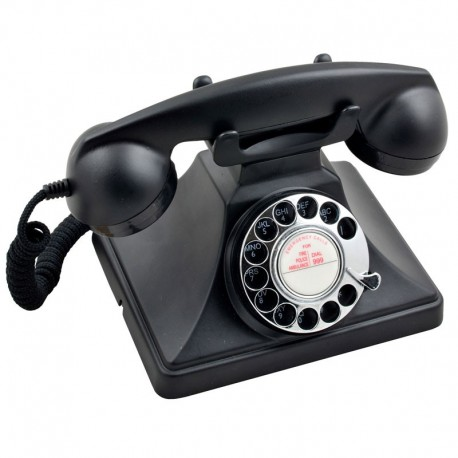 Telefono Retro GPO200Negro