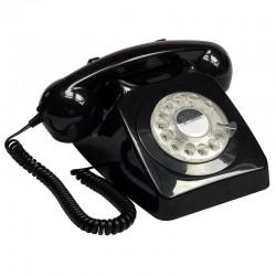 Telefono Retro GPO746Negro