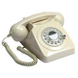 Telefono Retro GPO746Marfil