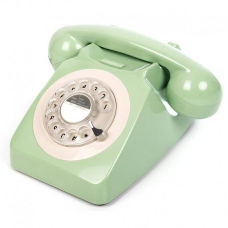Telefono Retro GPO746Verde