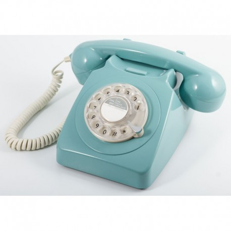 Telefono Retro GPO746Azul