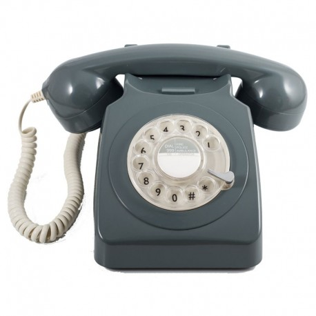 Telefono Retro GPO746Gris