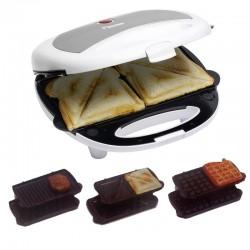 Sandwichera -Grill - Asador 3 en 1 de 700 watios. DSW5800