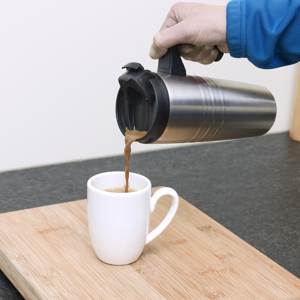 Cafetera termo con temporizador acup650 bestron - Cafetera con molinillo incorporado ...
