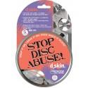 Protector D-Skin para CD,s y DVD,s. Pack5
