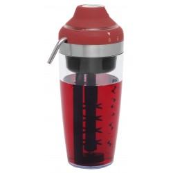 Coctelera Roja a pilas 550 ml. ACM1012R Bestron