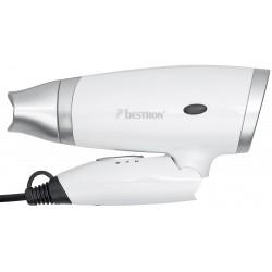 Secador plegable 1400 watios Blanco. AHD1400W Bestron