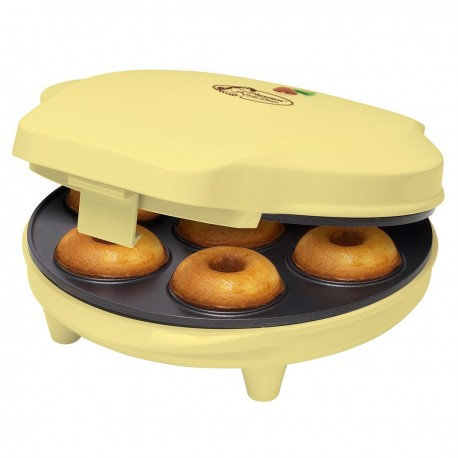 Maquina para hornear 7 mini donuts. ADM218SD Bestron