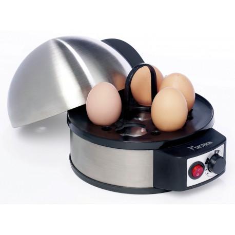 Cuece huevos para 7 unid. acero inox. DJA305 Bestron