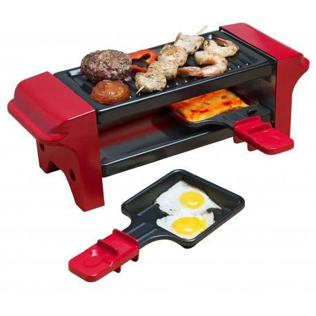 Raclette y grill 2 en 1 de 350 watios. AGR102 Bestron
