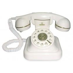 Telefono Sobremesa Vintage 20Blanco