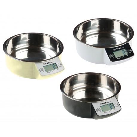 Bascula de cocina 5 Kg. Digital. FA6404-1 First Austria
