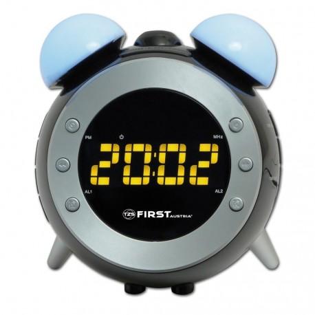 Radio reloj despertador con luz FA2421-4 First Austria