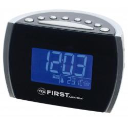 Radio reloj AM-FM alarma Dual y temperatura. FA2420-2