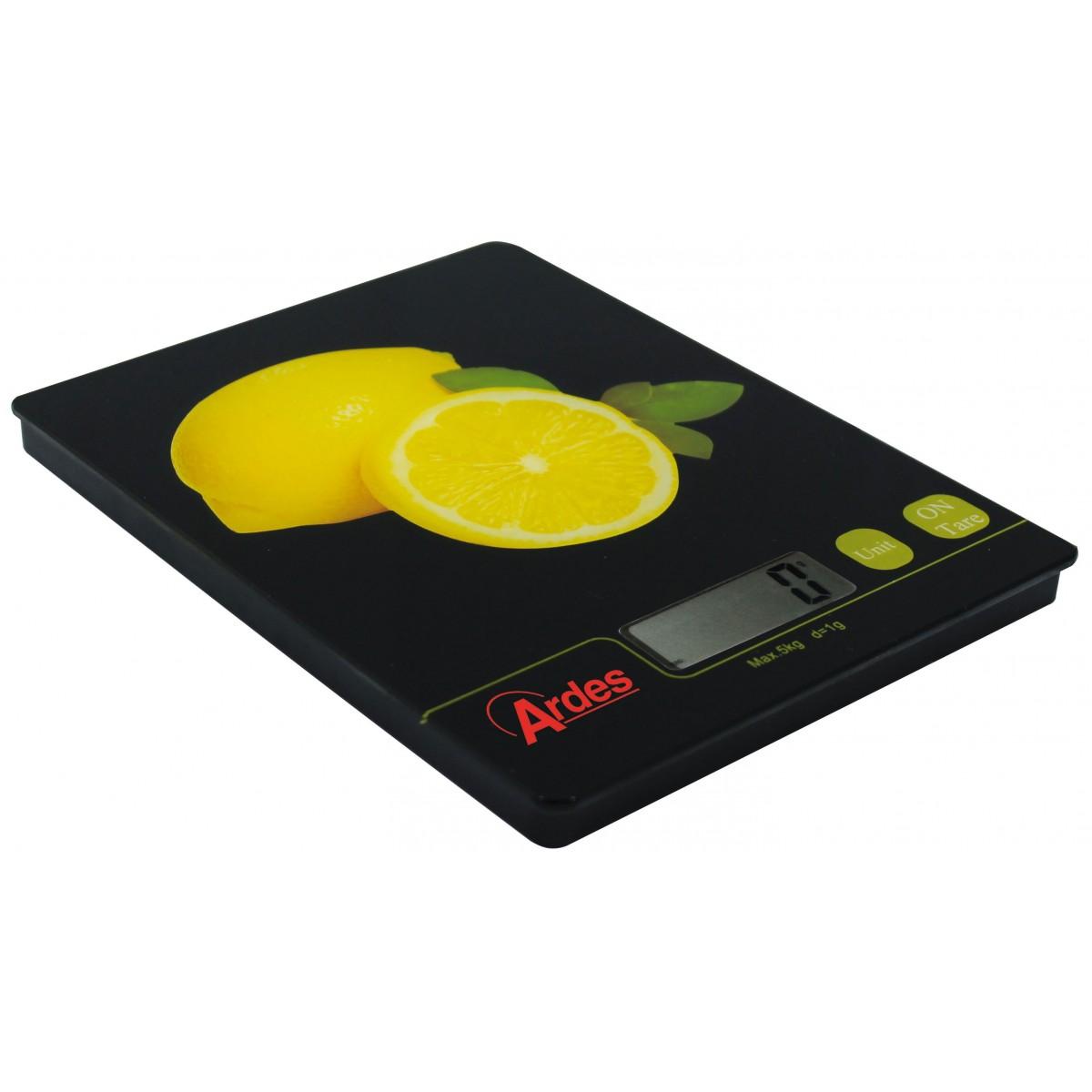 Bascula de cocina digital limon ar870limon - Basculas para cocina ...