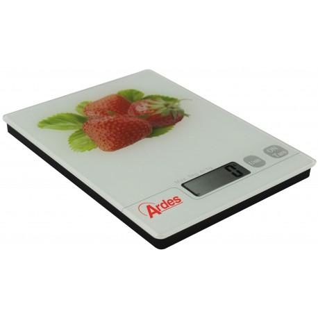 Bascula de cocina Digital diseño Fresas. AR870FRESAS Ardes
