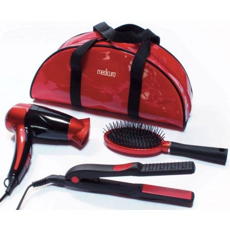Kit belleza secador, cepillo, plancha de pelo. ARM350 Ardes