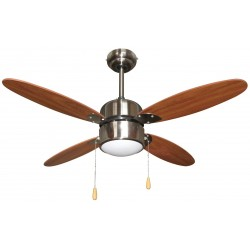 Ventilador de techo 107 cm con luz. AR5A107W