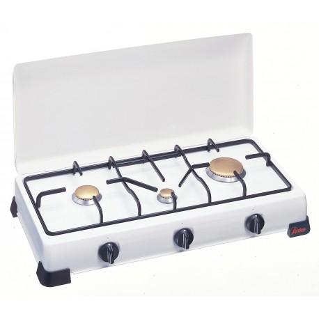 Hornillo Triple a Gas Butano GLP. 9S03PG-ZEUS903P Ardes
