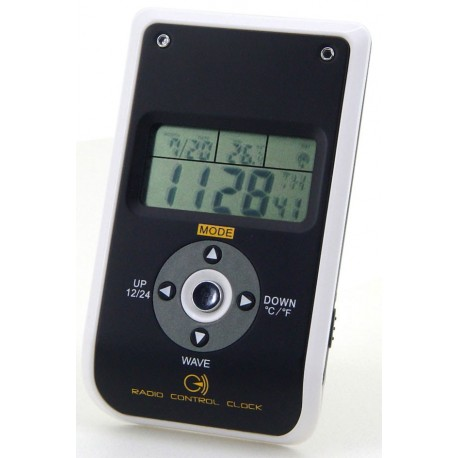 Despertador de Viaje con Temperatura. FUR850 Soundmaster