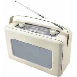 Radio Analogica piel sintetica Crema. TR85BE