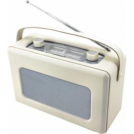 Radio Analogica piel sintetica Crema. TR85BE Soundmaster