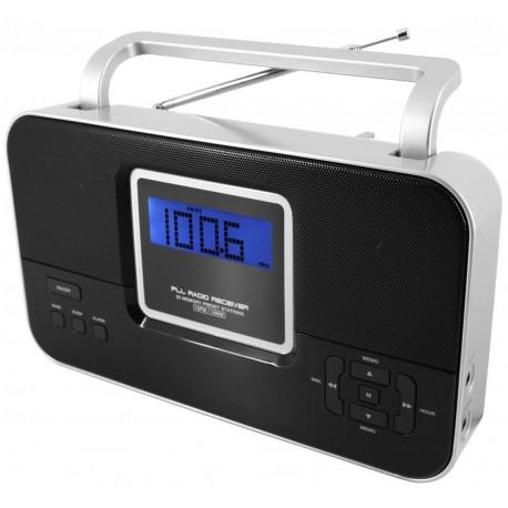 Radio AM-FM con PLL y alarma. TR65 Soundmaster