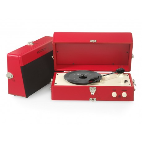 Tocadiscos Vintage RTT80RED Ricatech