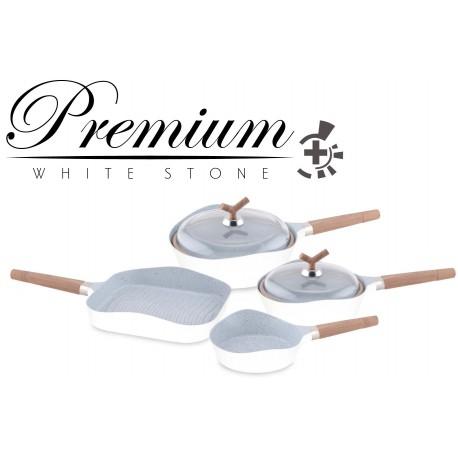 Set de sartenes Premium White Stone. C01013