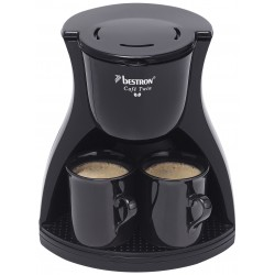 Cafetera de Goteo 2 Tazas - 450 watios. ACM8007BE Bestron