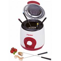 Freidora Duo con fondue de 1 litro 800 watios. ADF900