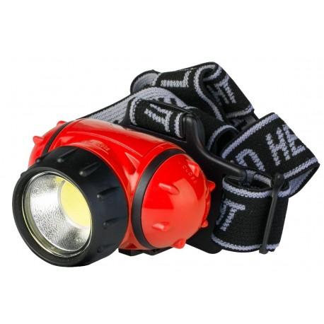 Linterna Trekking Frontal LED 3 W. 180 Lumens PP3156