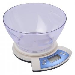 Bascula Digital  cocina 5 Kg. con bol. FA6406WI