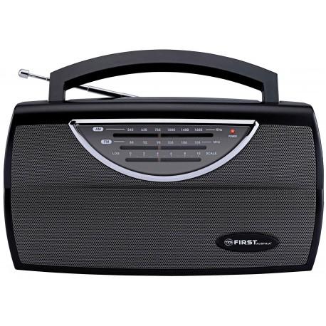 Radio portatil AM/FM analogica. FA1904BA First Austria