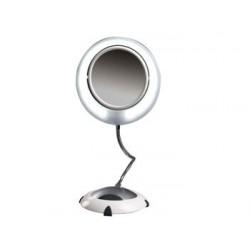 Espejo Bi-focal 5 Aumentos con Luz. ARM296