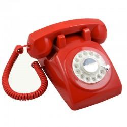 Telefono Retro 1970 Rojo