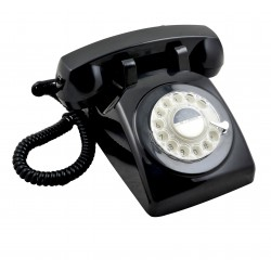 Telefono Retro GPO1970 Negro