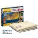 Calienta camas 150X80 100% lana. AR411